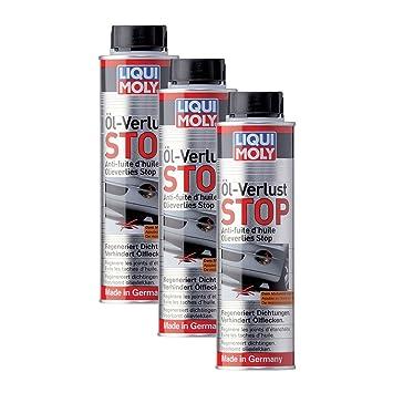 Liqui Moly Tapafugas de Aceite para Motores de Gasolina y diésel con o sin Filtro de