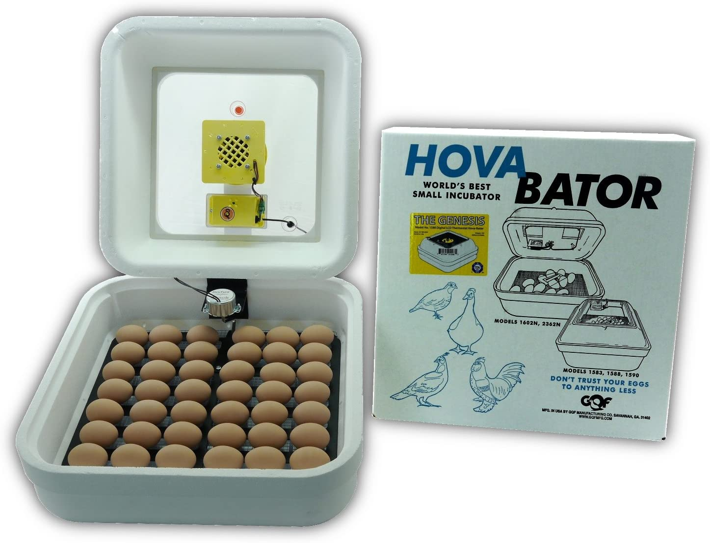 HovaBator Genesis 1588 Advanced Egg Incubator Combo Kit