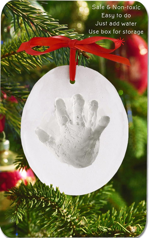 Amazoncom  Child to Cherish Handprint Ornament  Baby Keepsake