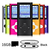 Amazon Price History for:G.G.Martinsen Black Versatile MP3/MP4 Player with a 16GB Micro SD card, Support Photo Viewer, Radio and Voice Recorder, Mini USB Port 1.8 LCD, Digital MP3 Player, MP4 Player, Video/ Media/Music Player