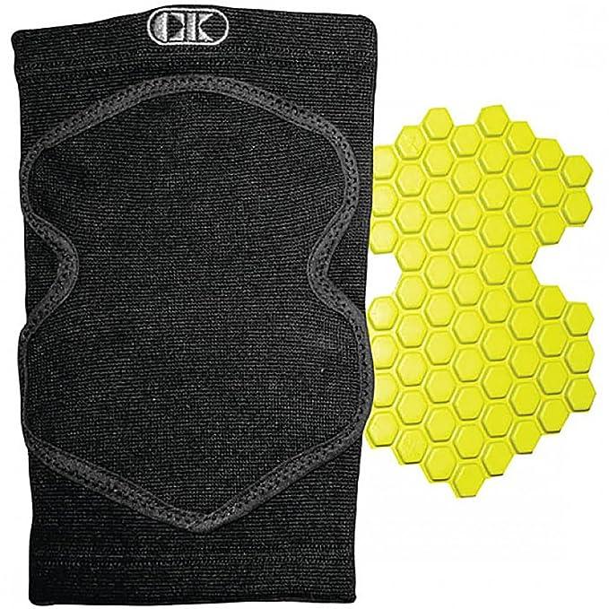 7bdadd7f34 Amazon.com: Cliff Keen Xtreme Impact Poron XRD Wrestling Knee Pad-Black-One  Size: Sports & Outdoors