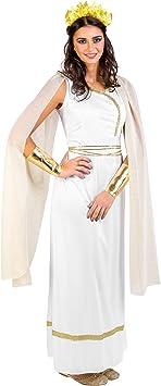 dressforfun Disfraz de diosa griega para mujer reina diosa antiguo ...