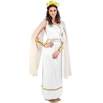 dressforfun Frauenkostüm griechische Göttin Olympia | Langes, edles ...
