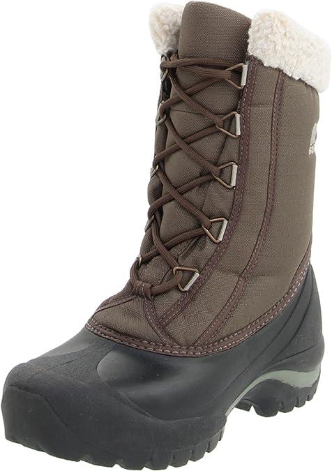 Cumberland - botas de nieve de material sintético mujer, color marrón, talla 40 Sorel