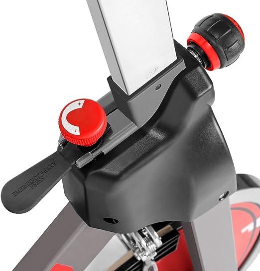 Bicicleta DE Spinning con Disco DE INERCIA DE 24KG, Sistema Silent ...