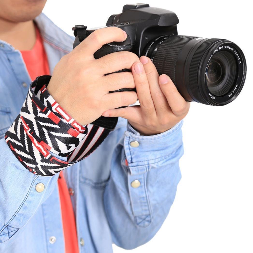 STRIR Generic Correa Ajustable de algodón Suave para cámara o ...
