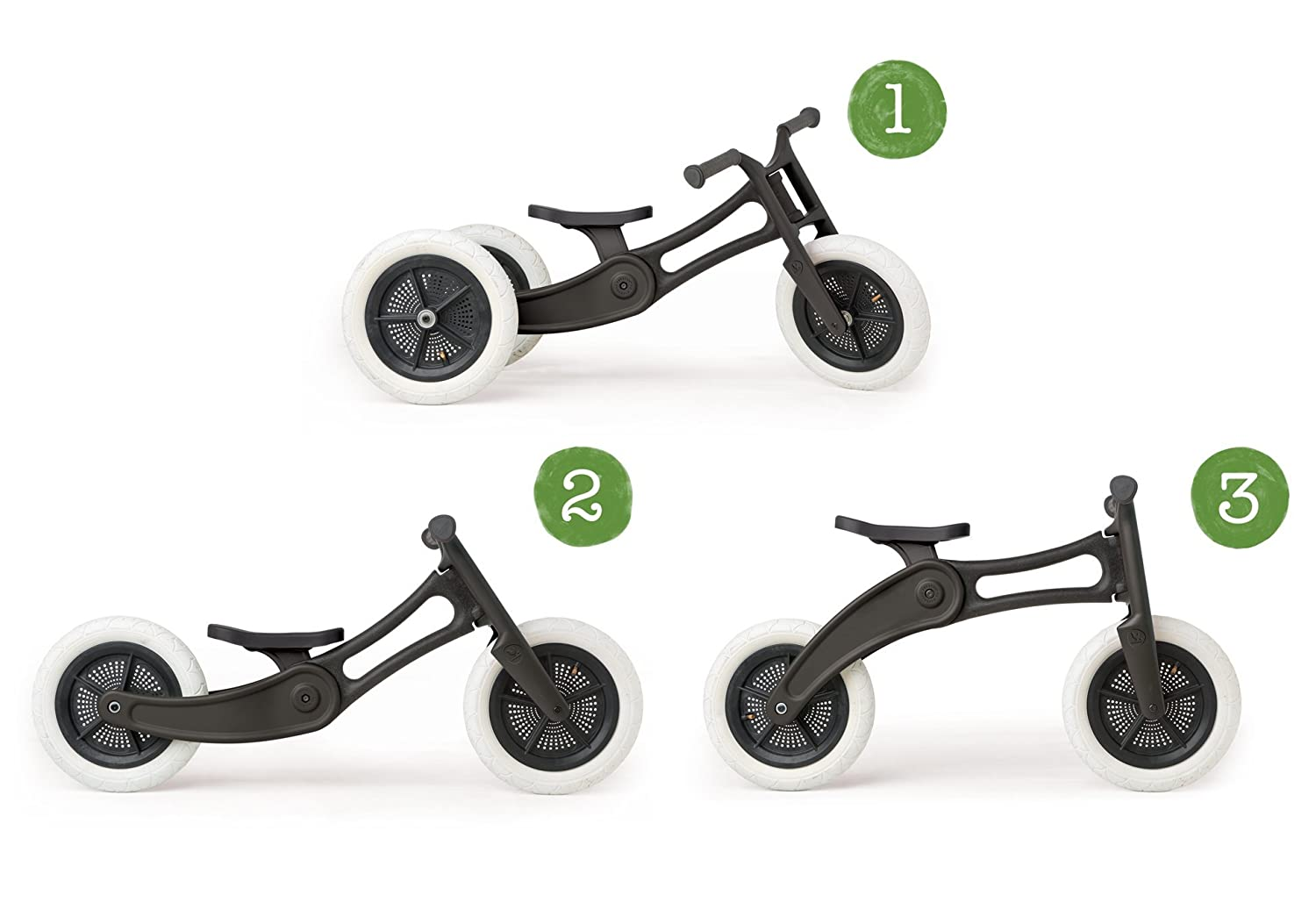 Wishbone Bike Recycled Edition 3in1 No Pedal Balance
