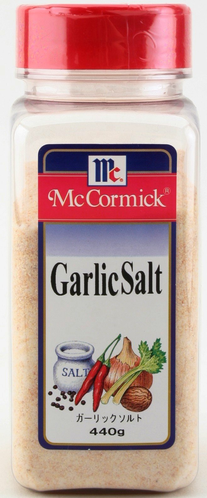 Yuki MC garlic Salt 440g