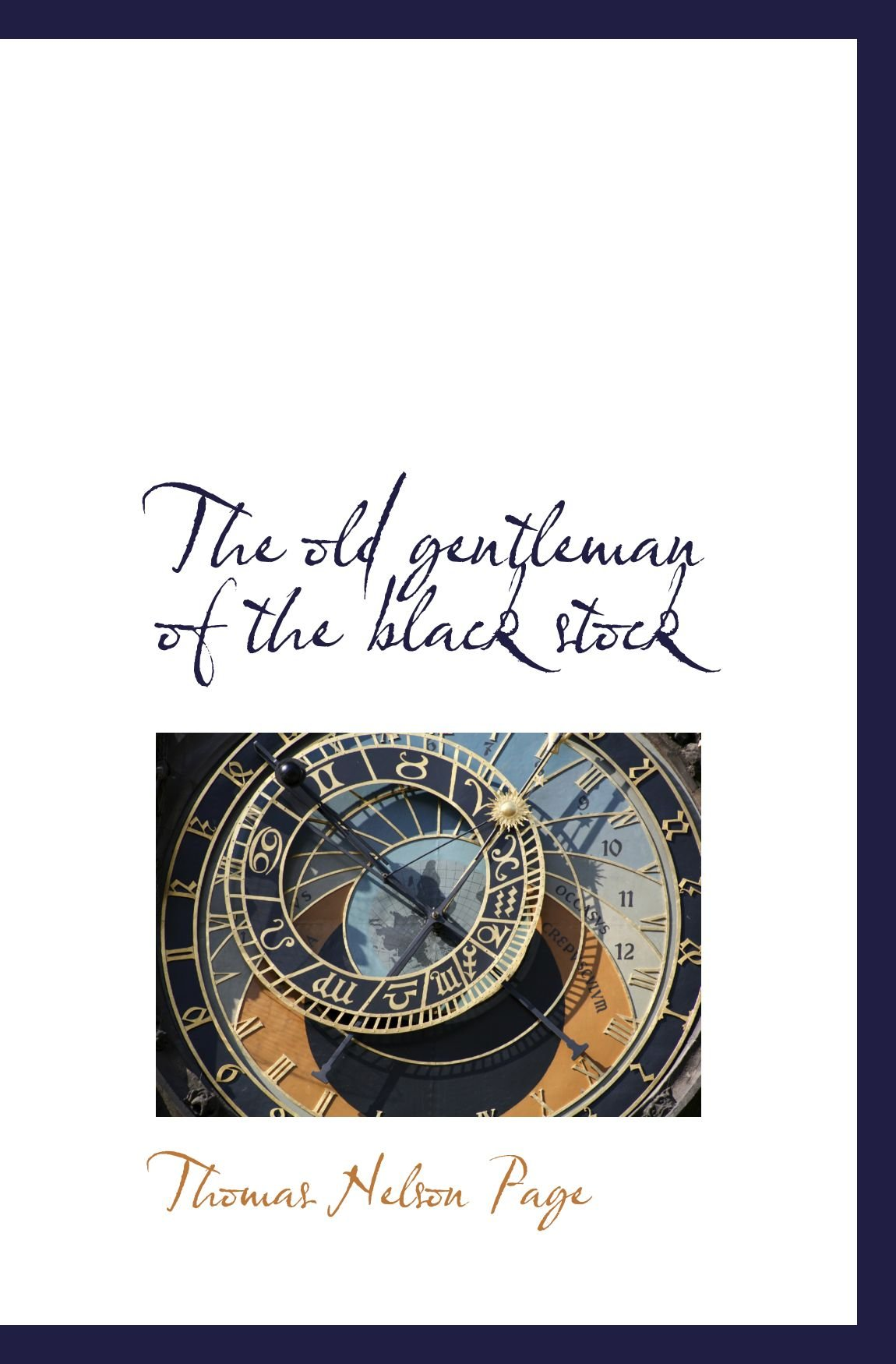 The old gentleman of the black stock pdf