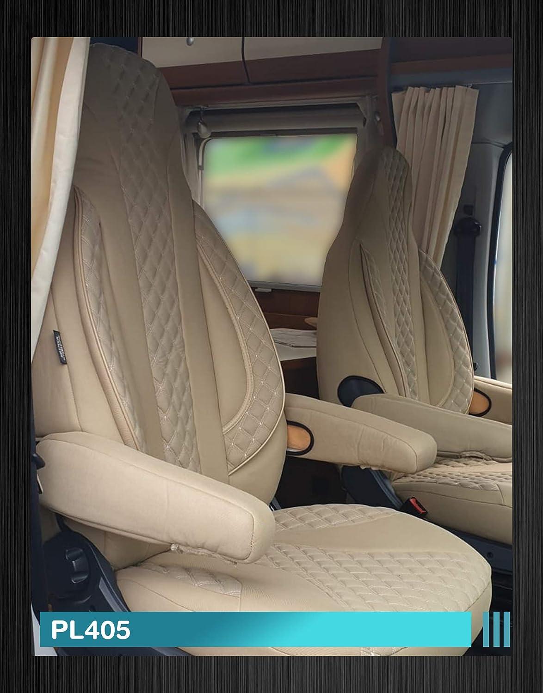 Wohnmobil Sitzbez/üge Fahrer /& Beifahrer Farbnummer PL405