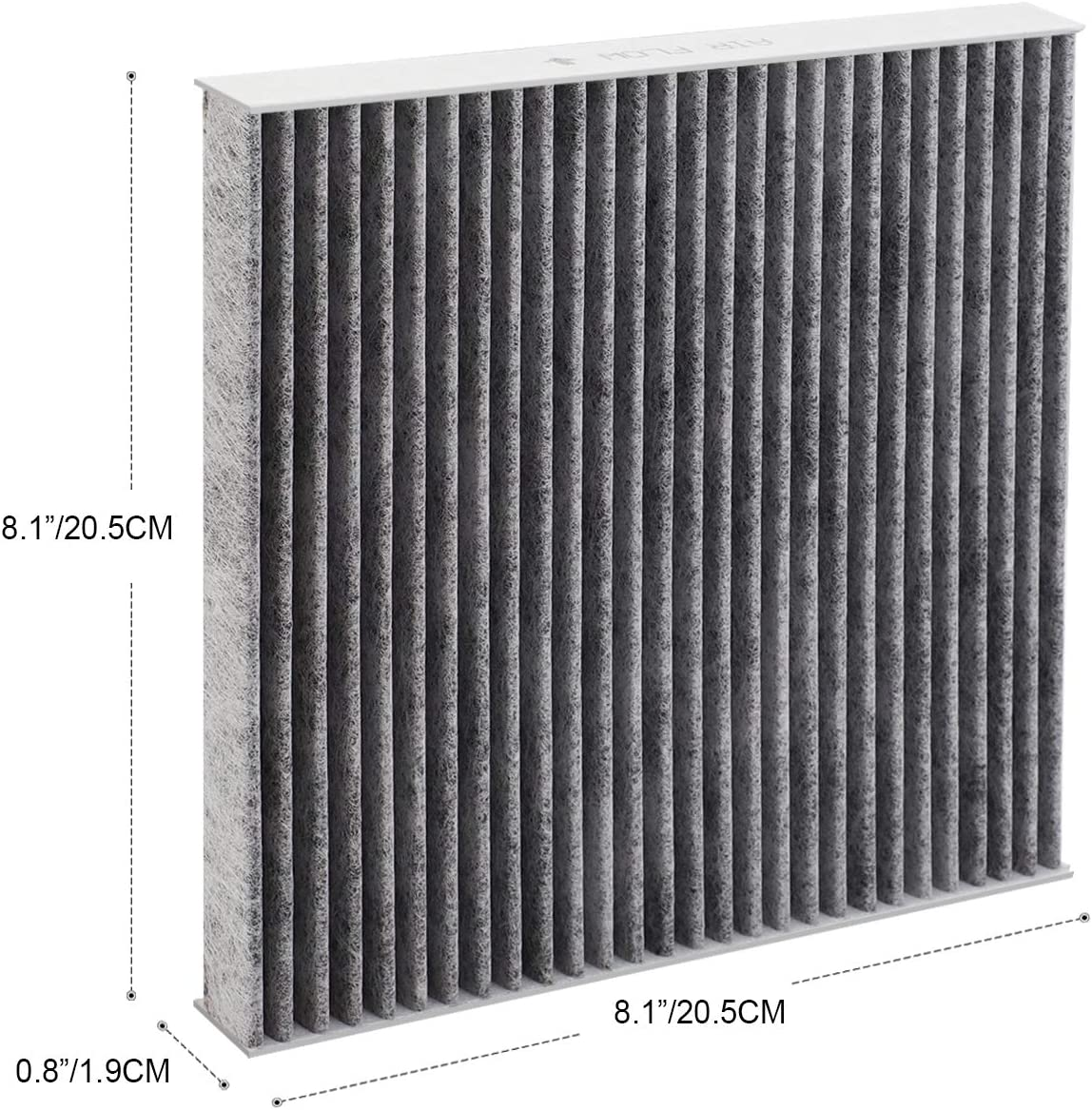 CF10374 Toyota Genuine Part 87139-YZZ09 Puroma Cabin Air Filter with Activated Charcoal Layer Replacement for CP374