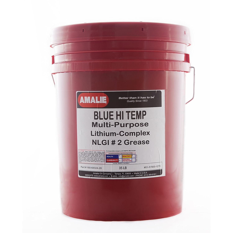 Amalie Blue Hi Temp Grease - 35lb pail Amalie Oil Company 4333033385