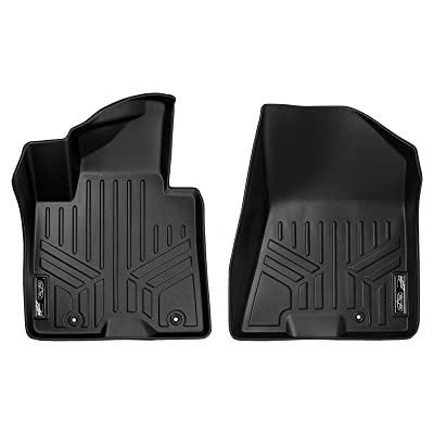 SMARTLINER Custom Fit Floor Mats 1st Row Liner Set Black for 2020-2020 Kia Sportage / 2020-2020 Hyundai Tucson: Automotive