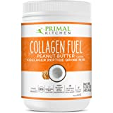 Primal Kitchen Peanut Butter Collagen Fuel Drink Mix - Non-Dairy Coffee Creamer & Smoothie Booster- Supports Healthy…