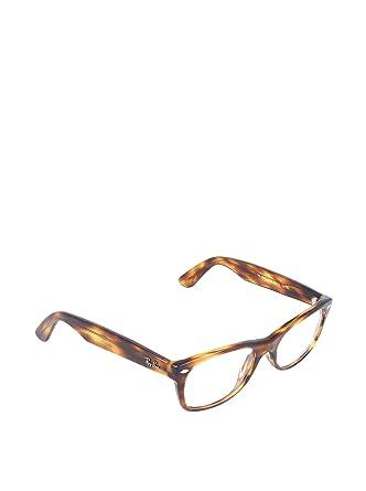 06bfab86e49 Ray-Ban Glasses 5184 2144 Light Tortoise 5184 Wayfarer Sunglasses  Amazon.co .uk  Clothing