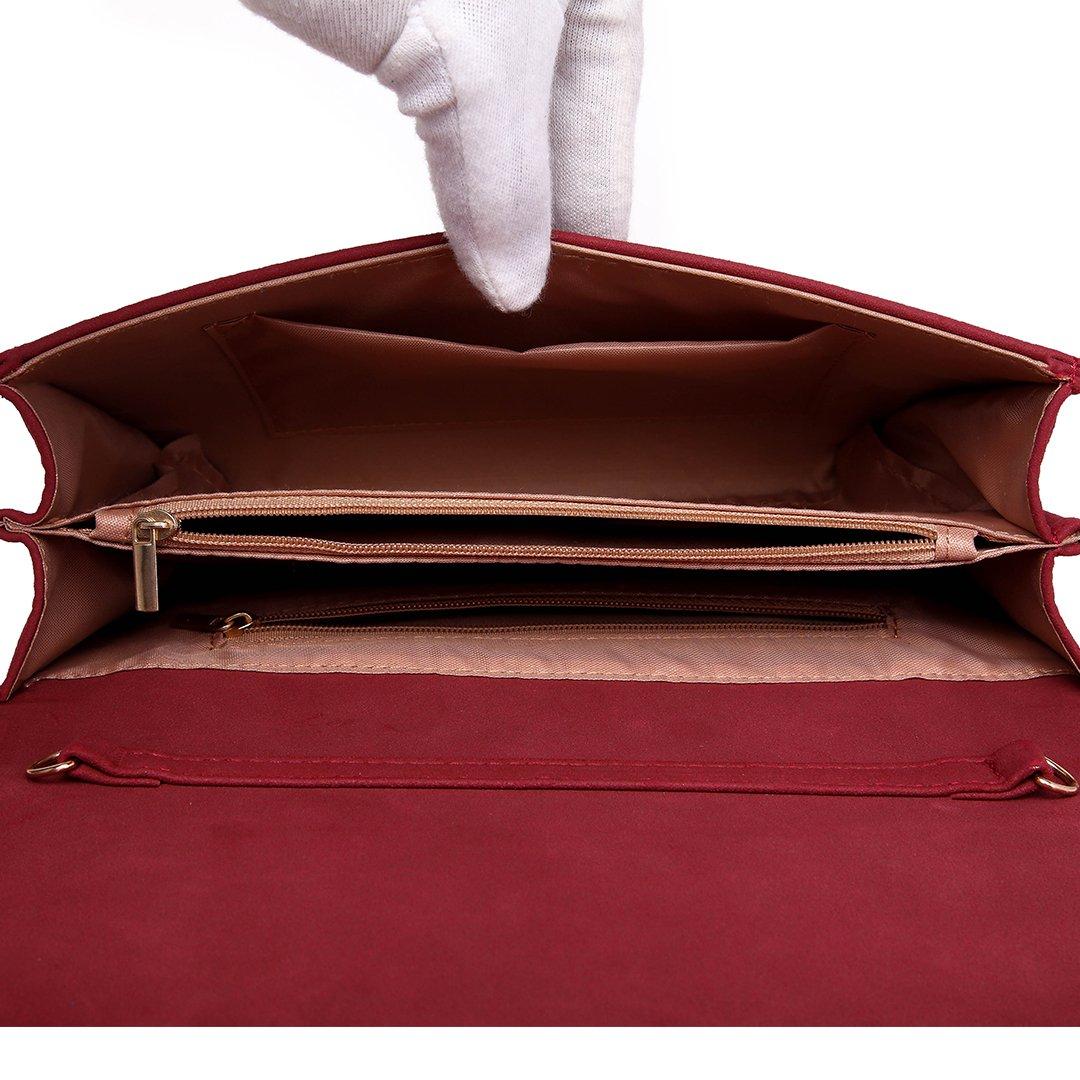 87c2e823c5cfd Clutches Handtaschen LH1756-Pink Miss LuLu Elegante Kettentasche Damen  Tasche Clutch Bag Handtasche Hochzeit Abendtasche Umhängetasche Mädchen