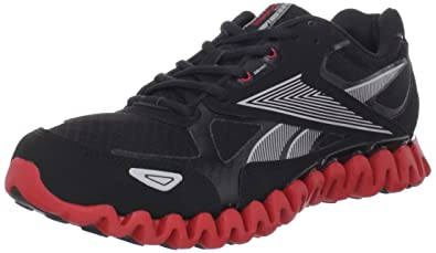 Reebok Mens Zignano Storm Running ShoeBlackExcellent Red9