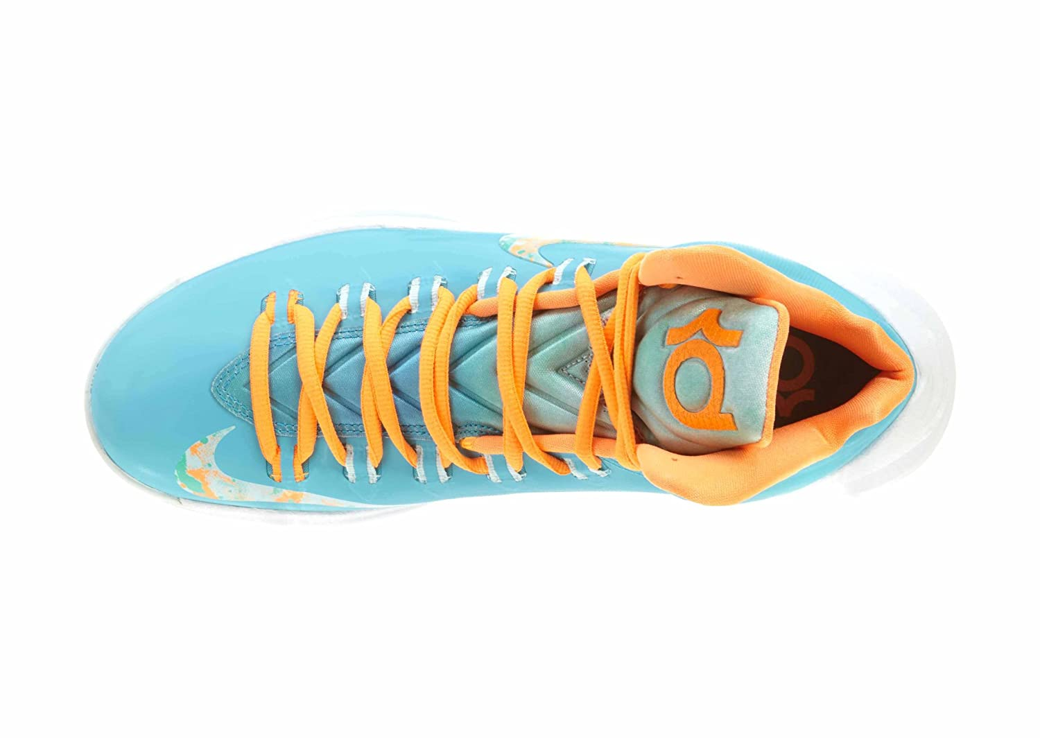 finest selection 8b4bd ef266 Nike KD V Easter Turquoise Blue Fiberglass  Bright Citrus 554988-402 Size  12  Buy Online at Low Prices in India - Amazon.in