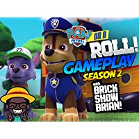 Paw Patrol On A Roll Gameplay With Brick Show Brian