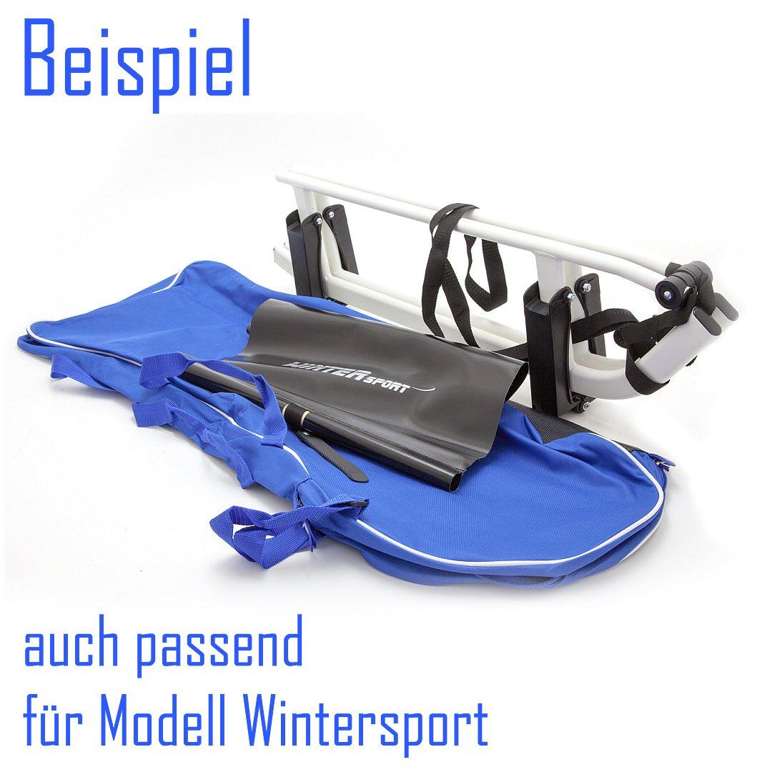 Schlittentasche Tasche für Klappschlitten: Amazon.de: Sport & Freizeit