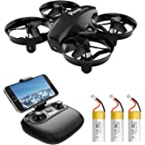 Potensic A20W Mini Drone for Kids and Beginners with Camera, 720P RC FPV Drone, Easy to Fly Portable Quadcopter with Altitude
