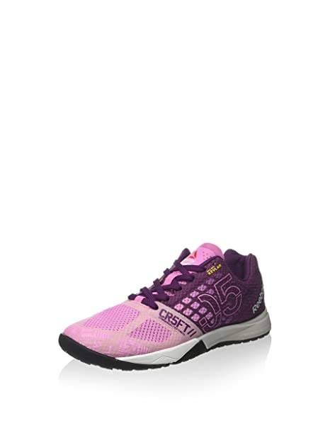 Reebok Zapatillas R Crossfit Nano 5.0 Rosa/Morado EU 40.5: Amazon.es: Zapatos y complementos