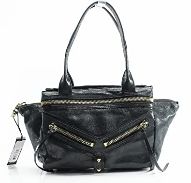 9f7ffa4965e Amazon.com  Botkier Women s Trigger Small Satchel Black Satchel  Shoes