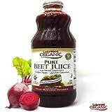 Lakewood Organic Beet Juice, 32 Ounce Bottle (Fruit Juice Pack of 6)