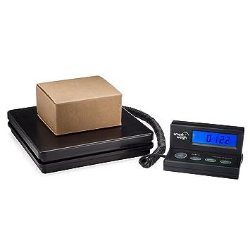 Smart Weigh ACE150 Báscula digital para pesar el correo, con un cordón extensible y una