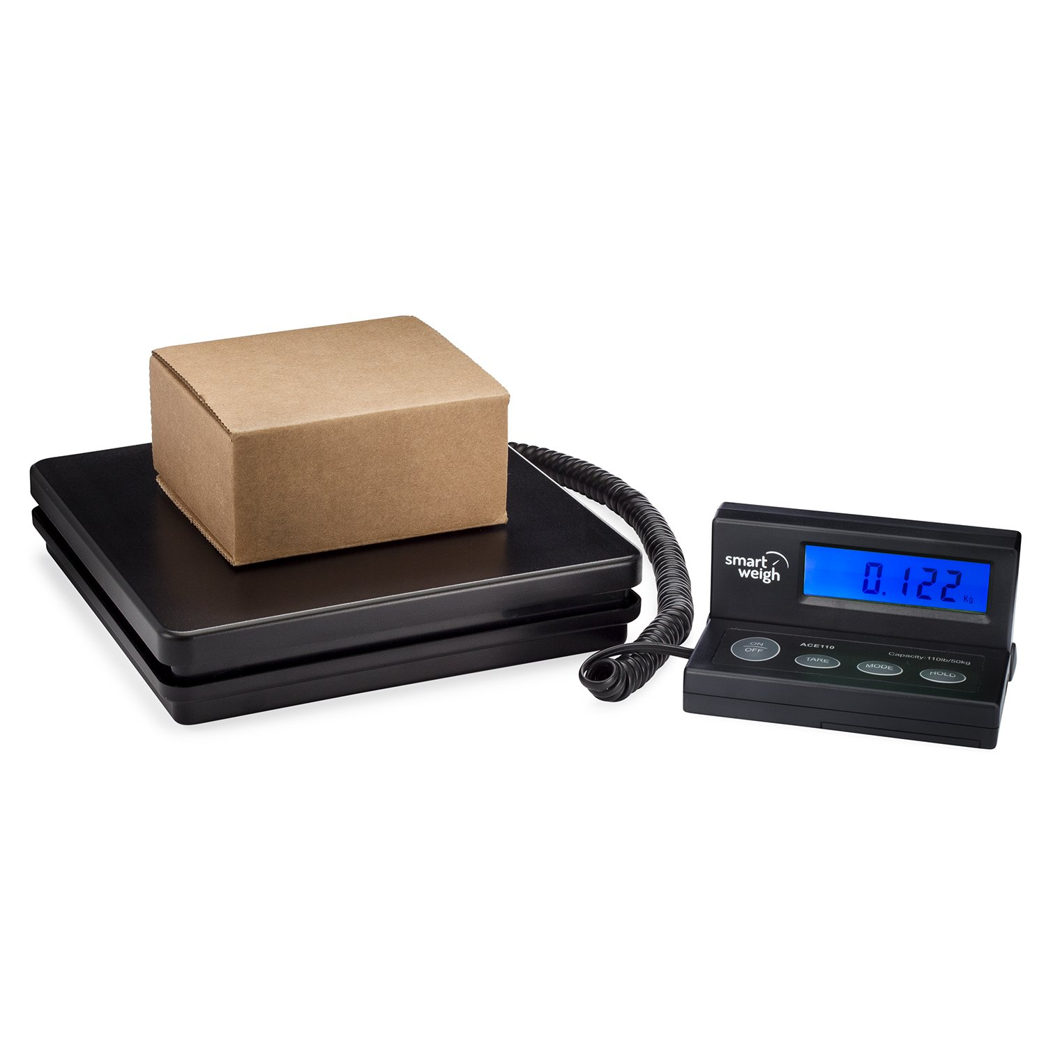 Smart Weigh Digital Shipping and Postal Weight Scale, 110 lbs x 0.1 oz, UPS USPS Post Office Scale by Smart Weigh