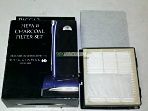 Riccar Brilliance Premium HEPA Filter and Charcoal Filter Set Riccar Part RF5P