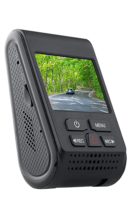 SpyTec A119 Version 2 Car dashcam 60 FPS 1440p Dashboard Video Recorder w/  Night Vision G-Sensor Loop Recording