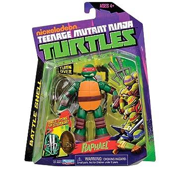 Giochi Preziossi 91160 - Tortugas Ninja figura con sonido, 5 ...