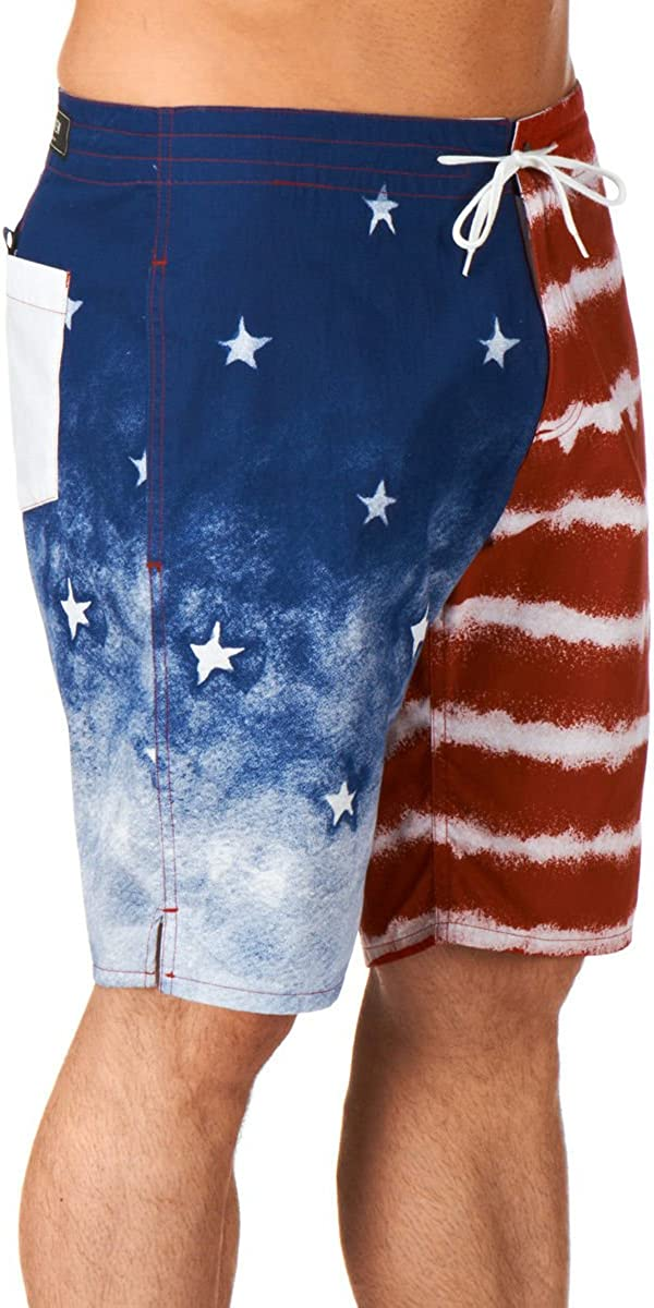 Kr3w Medicate American Stars and Stripes Boardshorts