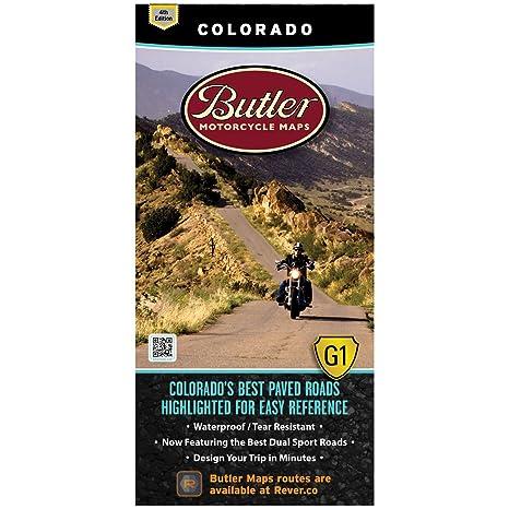 Butler Maps G1 State Maps (Colorado)