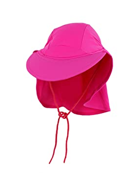 Yoccoes Designs Baby and Toddler UV Sun Hat Pink (S (Baby 9-18 ... 81ebb38d9b4