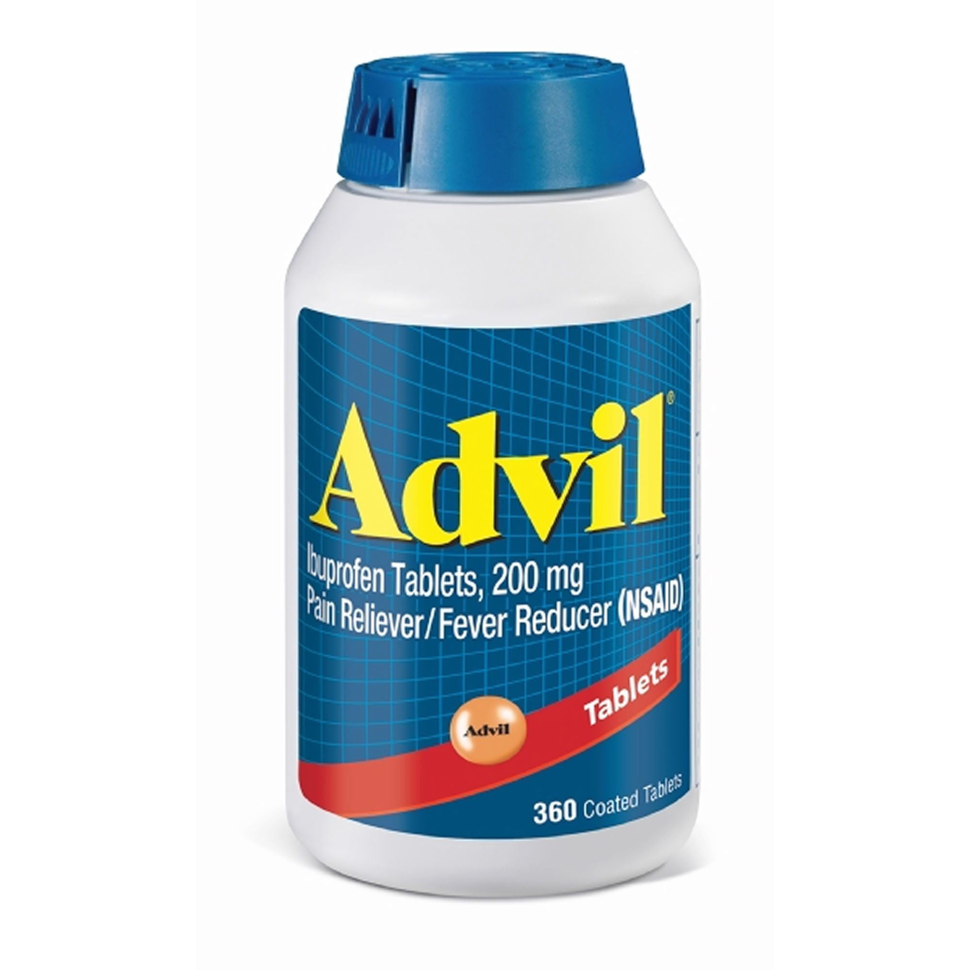 Advil 200mg Tablets, 360 ct. (pack of 6) by Advil