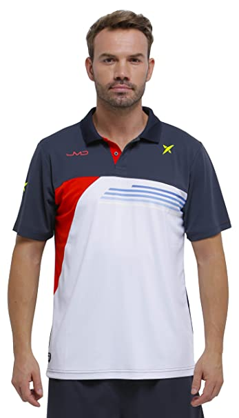DROP SHOT Invictus Polo técnico de Tenis, Hombre: Amazon.es ...
