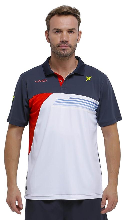 DROP SHOT Invictus Polo técnico de Tenis, Hombre: Amazon.es: Ropa ...