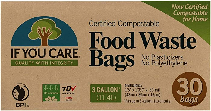 IF YOU CARE Bag Food WSTE 3GAL CMPSTBLE