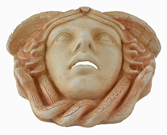 Amazon.com: Medusa Mask - Ancient Greek Theatre -Gorgon Medousa: Home & Kitchen
