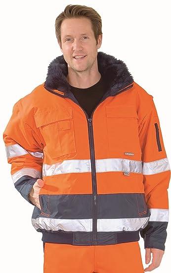 2046 Jacke Warnschutz Comfort OrangemarineAmazon Planam sQhCtrd