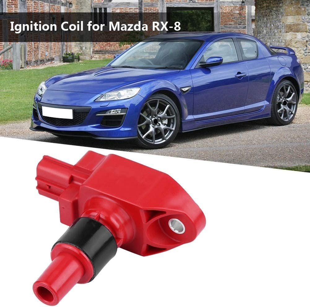 Aeloa Ignition Coil-Car Ignition Coil Compatible with Mazda RX-8 UF501 N3H1-18-100 Auto Parts