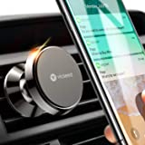 Car Phone Mount, VICSEED Upgraded Magnet N52 Air Vent Mount 360° Rotation Phone Holder for Car Compatible iPhone Xs/Xs Max/XR/ X / 8/8 Plus /7/7 Plus/ 6,Samsung S7 S8, HTC, LG, GPS Devices (black)