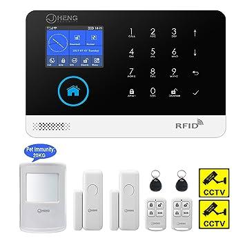 WIFI Funk Alarmsystem Haus Alarmanlage 3G GSM SMS GPRS Sicherheit Set