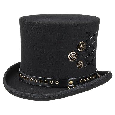 b426236f1da49c Amazon.com: Conner Hats Men's Steampunk Top Hat: Clothing