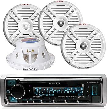 "Pyle PLMRX77 Speaker 7.7/"" Aqua Pro Marine; 2 Way; 280 Watts"