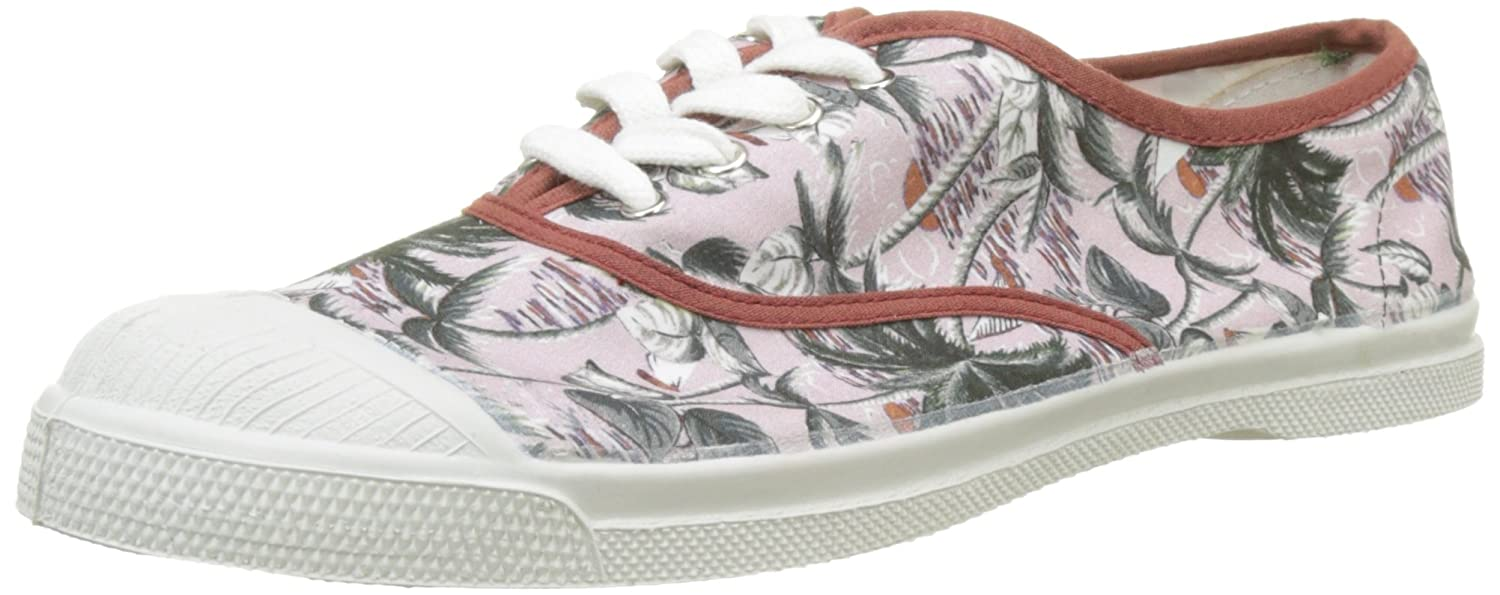 77c0a698f1201c Bensimon - F15004C18B - TENNIS LACETS SURF PRINTS - Baskets - Femme -  Multicolore (Imprime Palmiers) - 39 EU: Amazon.fr: Chaussures et Sacs