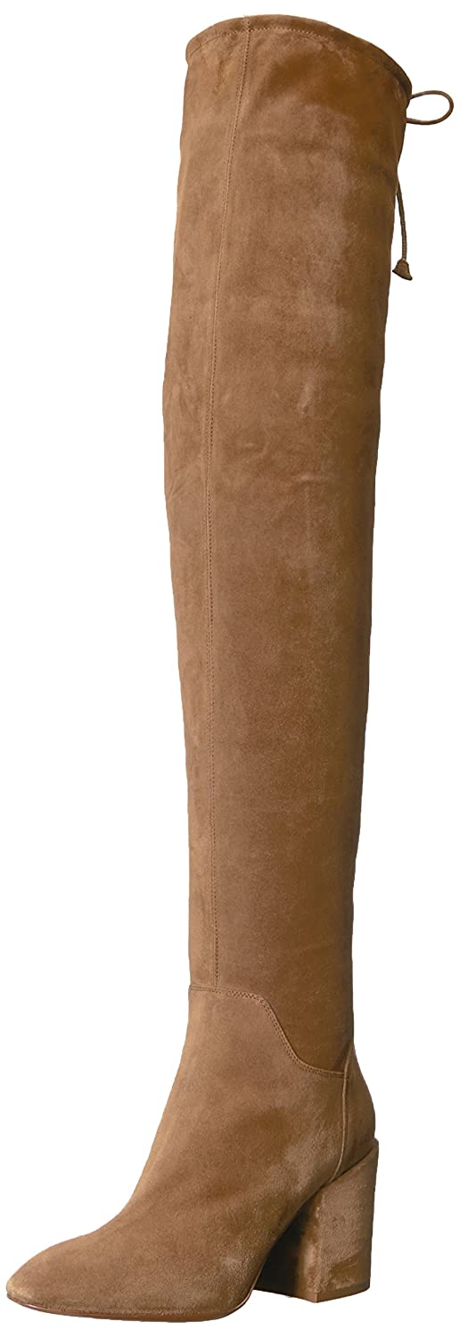 Aquatalia Women's Florencia Suede Over The Knee Boot B06WVBFT4F 9.5 B(M) US|Walnut