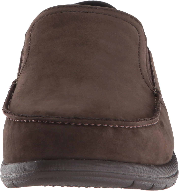 Crocs Mens Santa Cruz Convertible Leather Slip-on Loafer Flat